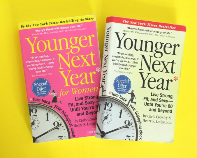 Why not be younger next year?