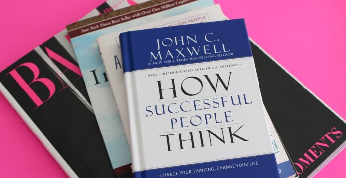 book how successful people think