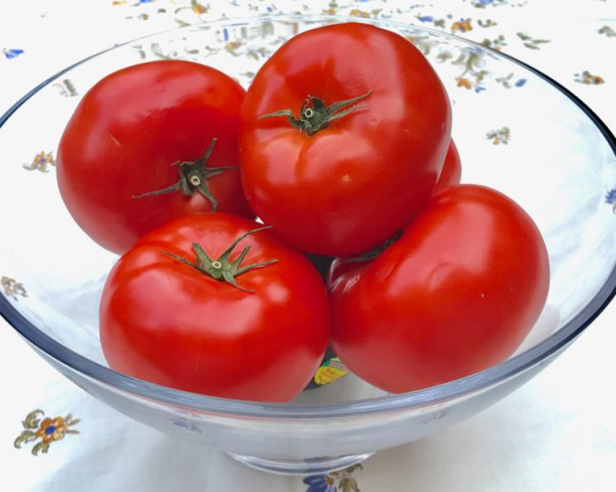 tomatoes and sun protection