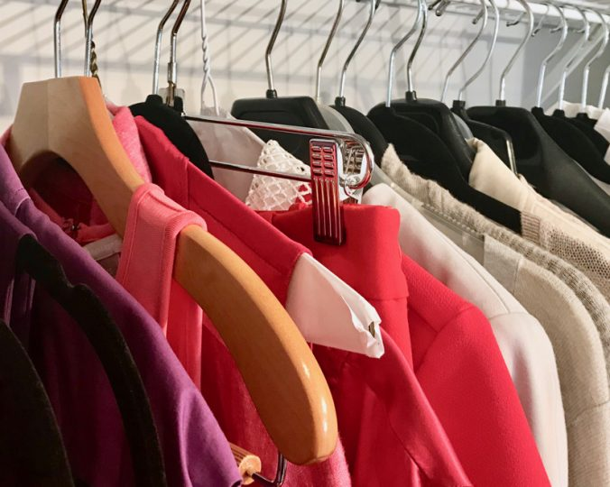 Organize your work wardrobe
